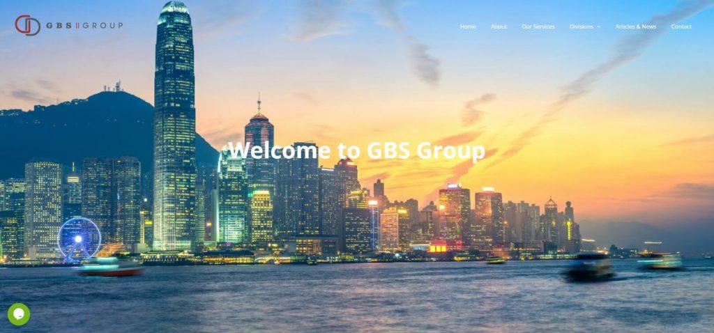 אתר תדמית GBS Group