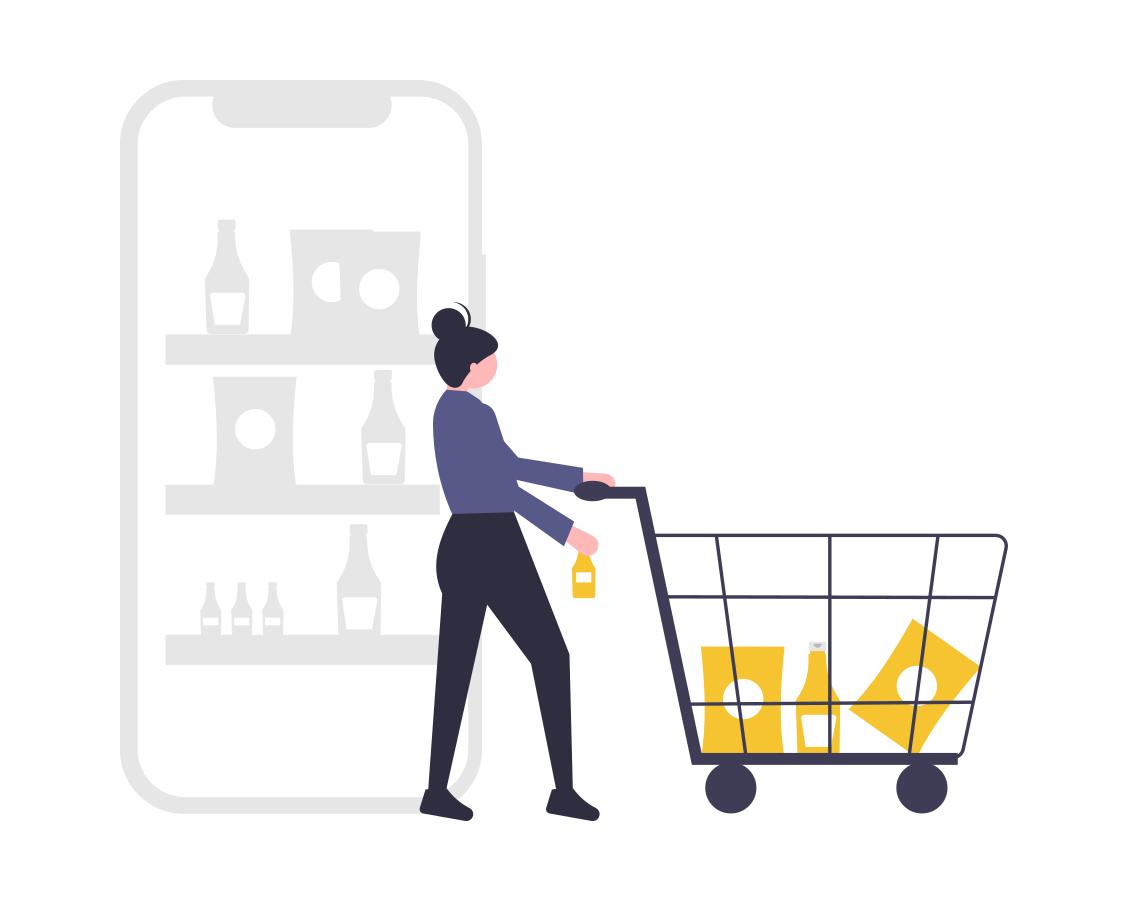 חנות אונליין אטרקטיבית - מערכת פשוטה ונוחה המאפשרת ללקוח לרכוש מוצרים בקלות.
